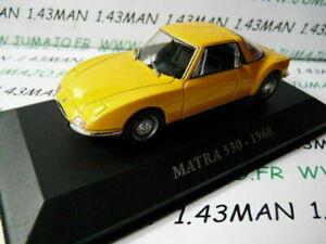 AUT1 Voiture 1/43 IXO altaya Voitures d'autrefois : MATRA 530 1968