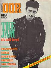 MAGAZINE OOR 1982 nr. 08 - JAM/NASMAK/RIP,RIG & PANIC/MAZE/DAVE EDMUNDS