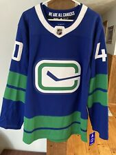 Elias Pettersson Vancouver Canucks Alternate Adidas Jersey 50 M MINT BNWT $225