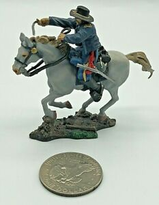 2007 Collectors Showcase American Civil War 1862 Mounted Lead Toy Soldier EXCEL
