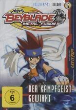 Beyblade Metal Fusion Volume 12 - Kampfgeist gewinnt - Folgen 47-51 - DVD NEU