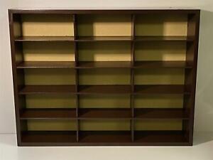 Woodern Display Case For 15 Models 1:43 1:64 Scale Models Atlas