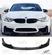 BMW M3 M4 M F80 F82 F83 Performance Style Fibre de carbone avant spoiler Splitter