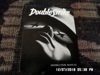 Double Strike (NES Nintendo) Instruction Manual Booklet Only... NO GAME