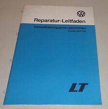 Werkstatthandbuch Instandhaltung Volkswagen VW LT 28 31 35 Stand 1983