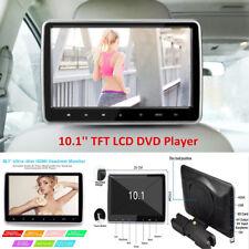 "10.1"" Portable HD TFT LCD Headrest DVD Player Car SUV Multimedia Monitor w/ HDMI"