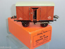 "VINTAGE ""O"" HORNBY MODEL No.50  GOODS VAN WITH OPENING DOORS   VN MIB"