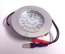 Caravan motorhome flush fitting 12V 24 LED downlighter spot light lamp DL6