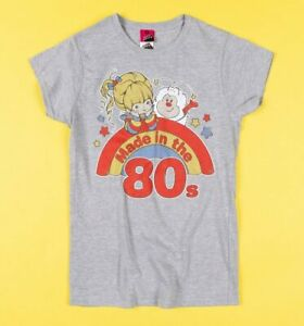 Official Women's Rainbow Brite Made in the 80s Fitted T-Shirt