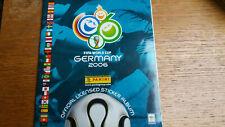 Panini world cup Germany 2006 complete album
