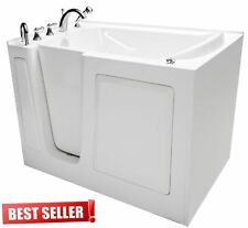 """31""""x 50"""" Fully Loaded Hydrotherapy Walk In Bath Tubs - Left Door"""