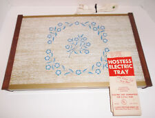 Vintage 60s HOSTESS ELECTRIC TRAY Large Surface Hot Plate Plug In Electric 17x11