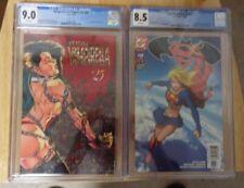 VENGEANCE VAMPIRELLA #25 1996 CGC 9.0+SUPERMAN/BATMAN#13 CGC 8.5 2 SEXY COVERS