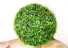 2X45cm ARTIFICIAL BOXWOOD TOPIARY FAUX BUXUS BALLS HOUSE HOME PARTY OFFICE DECOR