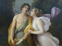 """high quality oil painting  handpainted on canvas """"Bacchus and Ariadne"""""""