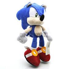 "Super Mario Bros NEW 9"" Sonic Plush Toy Doll/QT1868"