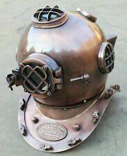 MARATIME 18 Inch US Navy Diving Helmet Mark V Deep Sea Divers Helmet Vintage