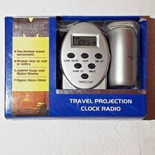 Concepts Maximo Travel Projection Clock Radio New in Packaging 2005