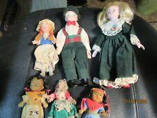 Lot of Vintage Porcelain & Plastic Dolls - 6
