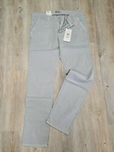 "MAC Jeans  LENNOX    Sommerbaumwolle  grau  Miniprint    ""NEU""  Gr. W40 / L34"