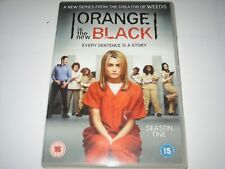 ORANGE IS THE NEW BLACK season 1 DVD R2 PRE-LOVED