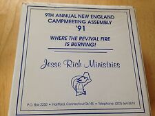 9th Annual New England Campmeeting Assembly 91 Jesse Rich Ministries Tapes