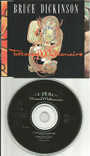 Iron Maiden BRUCE DICKINSON Tattooed Millionaire 2 UNRELEASE CD single USA Seler