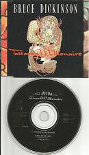Iron Maiden BRUCE DICKINSON Tattooed Millionaire 2 UNRELEASE CD single USA Seler