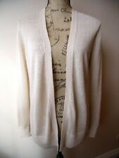 Ann Taylor Cardigan Sweater - Cream / Light Tan - Small Petite