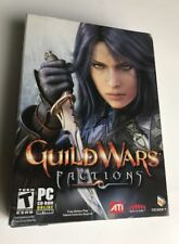 Guild Wars Factions Online PC Dvd-Rom Battle Fantasy Action Adventure Game ATI