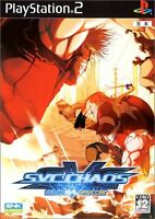 SNK VS CAPCOM SVC CHAOS PS2 JAPAN
