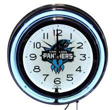 Carolina Panthers Blue Neon Clock Quartz New Lifestyle Lighting