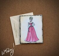 2011 Disney Designer Doll Princess Note Card AURORA - Steve Thompson Art