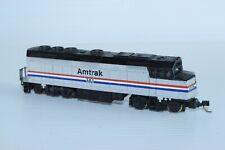 N Gauge LifeLike F-40 Amtrak 381 Silver Diesel