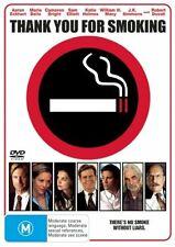 THANK YOU FOR SMOKING DVD=AARON ECKHART=REGION 4 AUSTRALIAN RELEASE=NEW/SEALED