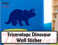 Triceratops Dinosaur Wall Vinyl Sticker