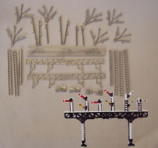 P&D Marsh N Gauge N Scale B329 LMS Pratt signal gantry kit requires painting