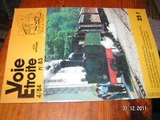 Voie Etroite n°83 Montenvers 1927 Tramways Belfort