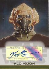 """Star Wars Evolution Update - Matt Sloan """"Plo Koon"""" Auto / Autograph"""