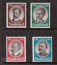Germany #432 - #435 NH Mint Set