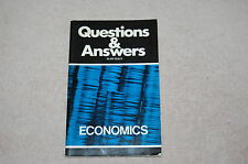 Economics: Questions and Answers by A. Gully (Paperback, 1980).........(RBR11)