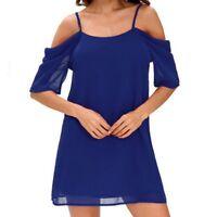 Women Short Sleeve sun-top Casual Shirt Top Blouse Tee Shirt Dress S-6XL