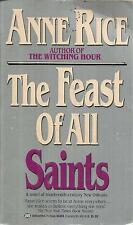ANNE RICE THE FEAST OF ALL SAINTS