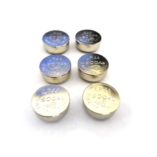 6x Battery Button Cell for Motion Alarm Bike Bicycle Padlock Security Locks