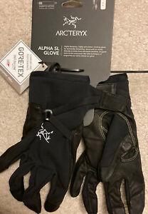 NWT Arc'teryx Alpha SL Glove Gore-tex Infinium Size S