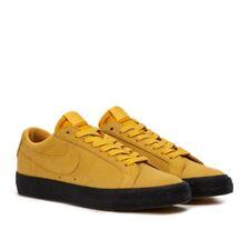 the best attitude 12036 4c150 NIKE SB ZOOM BLAZER LOW EU 42.5 Sneakers uomo suede scarpe giallo