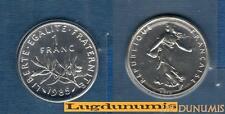 FDC - 1 Francs Semeuse 1985 FDC 12 500 Exemplaires Scéllée du coffret FDC