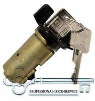 Chevy GMC Suburban 79-94 Ignition Key Switch Lock Cylinder Tumbler 2 Keys Black