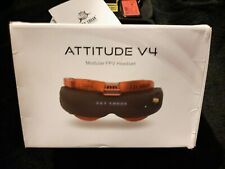 FatShark Attitude V4 FPV Goggles 5.8GHz Receiver Battery / RC Racing Drone Plane