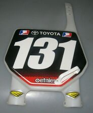 JAKE WEIMER #131 1ST YEAR PRO CYCRA NUMBER PLATE Geico Honda CRF250R motocross
